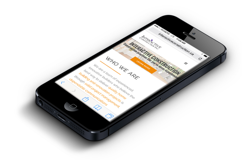 Mobile Websites for Construction Companies