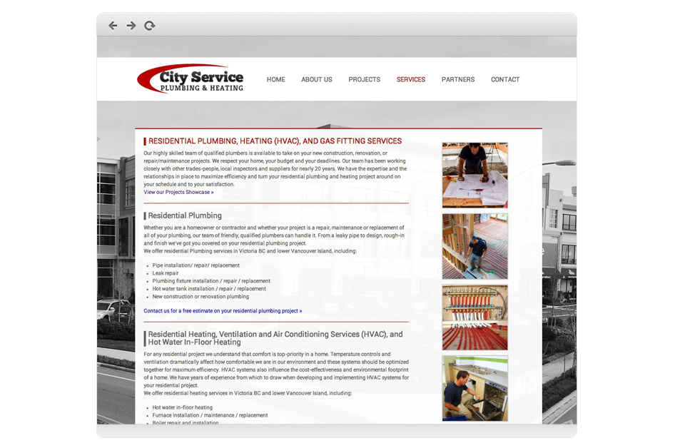Web Development for Plumbing Companies